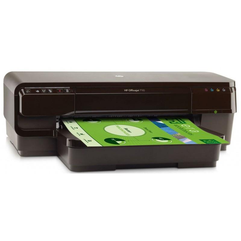 Imprimantes jet d'encre couleur HP Officejet 7110 Grand format à usage professionnel