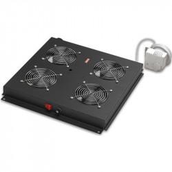Ventilateur 4 FAN ESTAP +Thermostat / Noir
