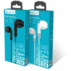 Ecouteur avec Micro Celebrat G8 / Blanc