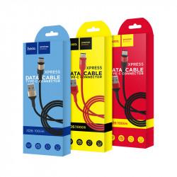 Câble USB Hoco X26 Pour Type-C Flash / Rouge