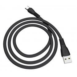 CÂBLE USB HOCO X40 3A Pour Type-C / 1 M / Noir