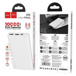 Power Bank Hoco J55 / 10 000 mAh / Blanc