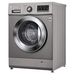 Machine à laver à Vapeur LG 8 Kg / Silver