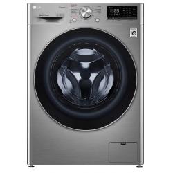 Machine à laver à Vapeur LG 9 Kg / Silver