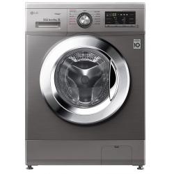Machine à laver à Vapeur LG 9 Kg / Inverter DD 6M / Silver