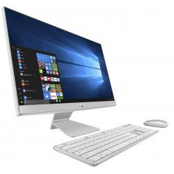 PC de bureau All-in-One Asus Vivo AiO V241EAK / i5 11è Gén / 8Go / 128Go SSD+ 1 To Blanc