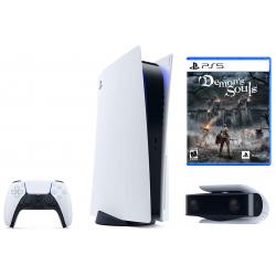 Console PlayStation 5 Edition Standard + Jeu Demon's Souls + Caméra PS5 HD