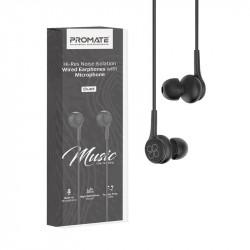 Écouteurs stéréo avec micro Promate Duet / Noir