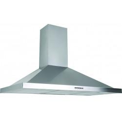 Hotte aspirante Pyramide Azur / 3 Vitesses / 90 cm / Inox