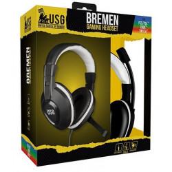 Casque Gamer USG Bremen Pour PS 4 / PS 5 / Xbox 1