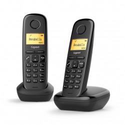 Paire de Téléphones DECT Sans Fil Gigaset A170 / Noir