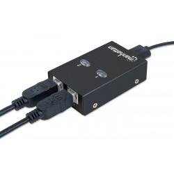 Commutateur de Partage MANHATTAN USB 2.0 2PC