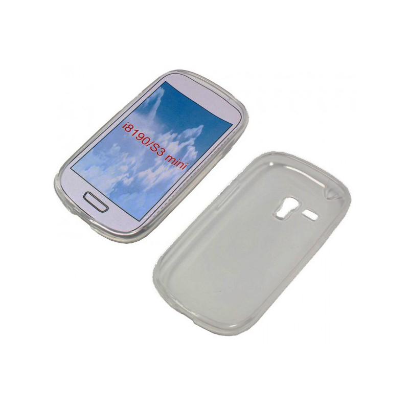 Coque en Silicone Transparente Pour Samsung Galaxy S3 Mini