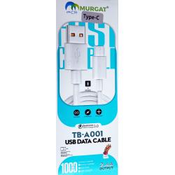 Câble Murgat TBA001 Type-C...