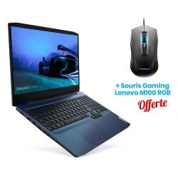 PC Portable Lenovo IdeaPad Gaming 3 15ARH05 / AMD Ryzen 7 / 16 Go + Souris Gaming Lenovo M100 Offerte
