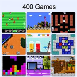 Console GameBOX 400 Jeux / Bleu