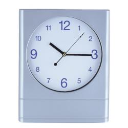Horloge murale 30 cm / Argent