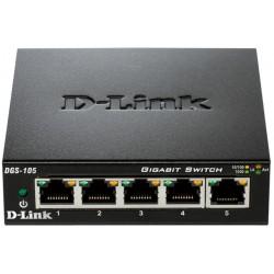 Switch D-Link Gigabit 5 ports 10/100/1000 Mbps