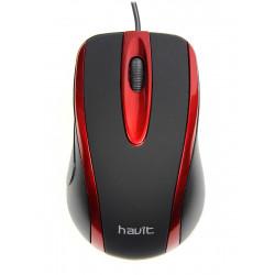 Souris USB Havit MS753 / Rouge