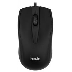 Souris USB Havit MS871 / Noir