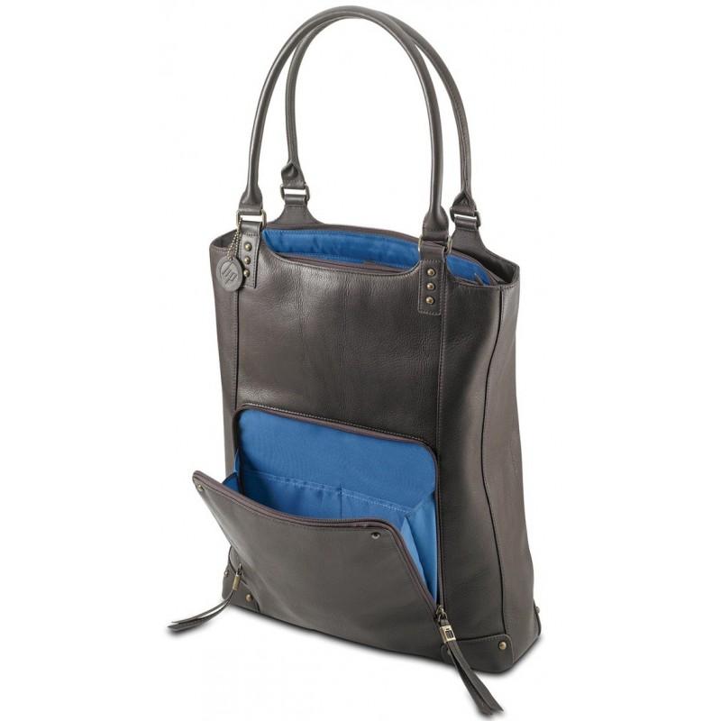 invaincu x techniques modernes bonne vente Sac en cuir pour Pc Portable 15.6