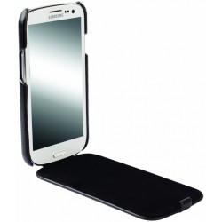 Etui en Cuir Pour Samsung Galaxy S3 Noir