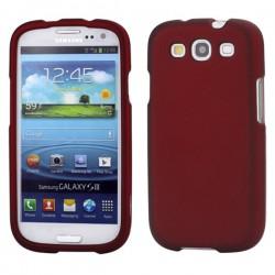 Coque en Silicone Pour Samsung Galaxy  S3 / Rouge