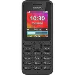 Téléphone Portable Nokia 130 / Double SIM / Noir + SIM Offerte