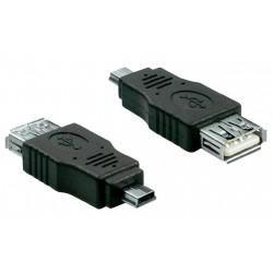 Adaptateur Mini USB Male Vers USB Femelle