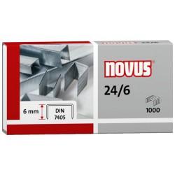 Agrafes Novus 24/6 DIN