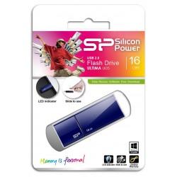 Clé USB Silicon Power Ultima U05 / 16 Go / Bleu