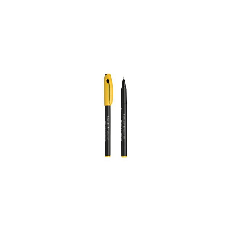 Pochette 10 × Feutres pointe fine Schneider Topliner 967