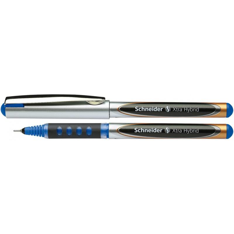 stylo roller encre liquide schneider xtra hybrid 0 5 mm bleu. Black Bedroom Furniture Sets. Home Design Ideas