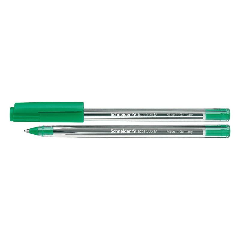Stylo à bille Schneider Tops 505 M / 1.4 mm / Vert