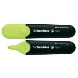 Surligneur Schneider Job / Jaune