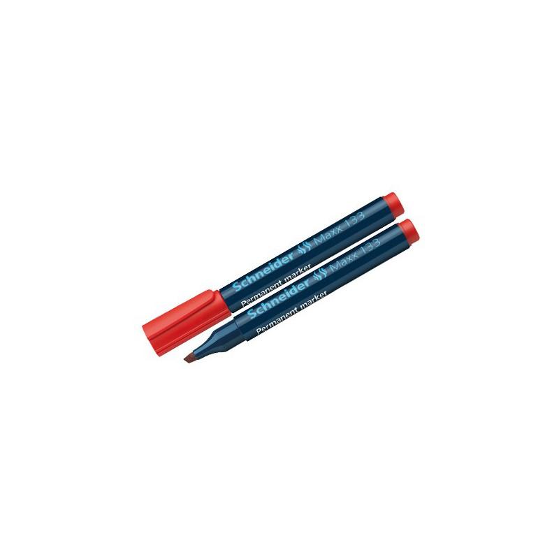 Marqueur Permanent Schneider Maxx 133 / Rouge