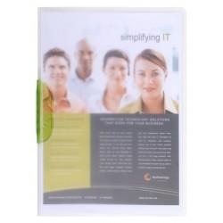 Chemise de présentation Clip Design - A4 / Blanc transparent