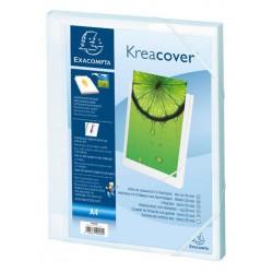 Boite de classement Dos 25mm Krea Cover / Blanc