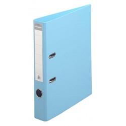 Classeur à levier PVC A4 dos de 50mm / Bleu clair