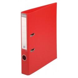 Classeur à levier PVC A4 dos de 50mm / Rouge