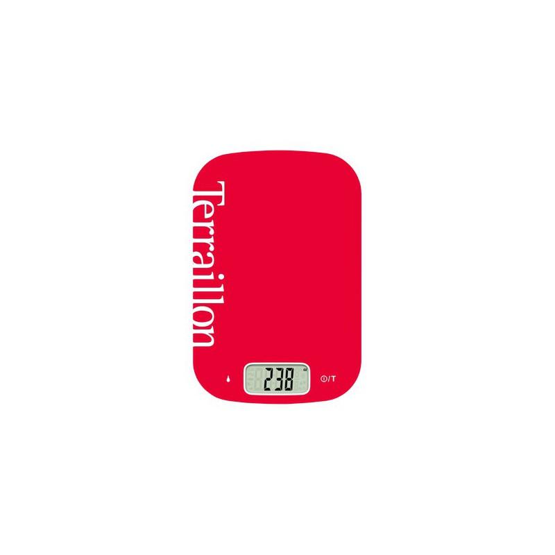 Balance de cuisine terraillon neo cook 6 kg rouge Balance de cuisine rouge