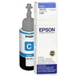Bouteille d'encre Epson T6732 Cyan 70ml