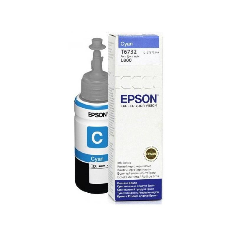 Bouteille d'encre Epson T6731 Noir 70ml