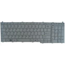 Clavier pour pc portable Toshiba C650 Blanc