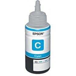 Bouteille d'encre Adaptable Epson100ml / L800 - L200 / Cyan