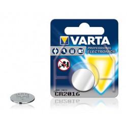 Pile électronique Bouton Lithium Varta CR2016