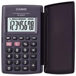 Calculatrice Casio HL-820LV-BK avec étui / Noir
