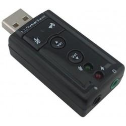 Carte Son USB 4 Ports