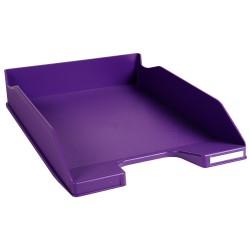 Corbeille à courrier EXACOMPTA COMBO 2 Classic / Violet