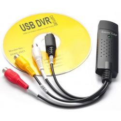 Convertisseur Easier CAP USB 2.0 vers 3RCA + S-VIDEO